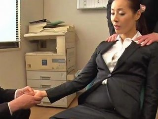 Business Woman Morishita Mio Forgets Her Manners With Horny Dudes