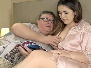 Lovely Spanish Babe Diana Rius Is Fucked By Ugly Four Eyed Old Dude