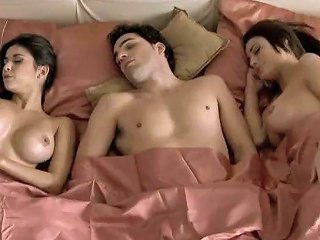 Guy Wakes Up With Two Big Boobs Milf Babes In His Bed