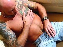 Alpha Male Jerk Offs - Gay Porn Stars solo & masturbation