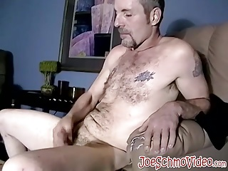 Handsome Amateur Dude Bobby Unloading A Big Portion Of Jizz