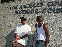 Hot cougar MILF fucks 2 young blacks interracial