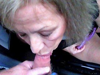 Pretty Mature Wife Sucks Cock Through Car Window Porn 43