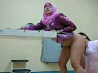 Happy Office Man Rims His Malay Wife And Fucks Her On The Table