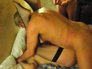 My Scottish Wife Getting More Cocks Pounded Into Her