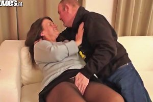 Mature Couple Fuck Hard On Camera
