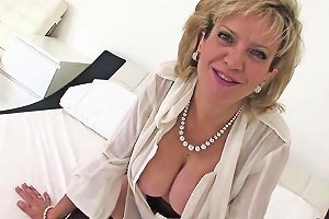 Unfaithful British Mature Lady Sonia Shows Off Her Oversized