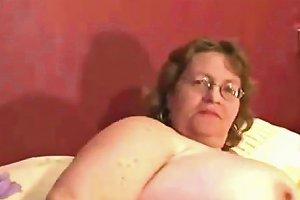 Bbw Old Granny Gets Horny