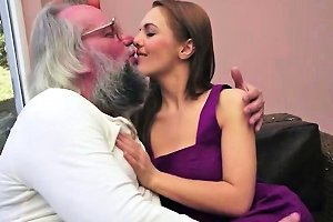 Gramps Lusting On Amateur Teen