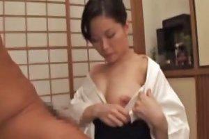 Mature Japanese Pleasing Her Husband