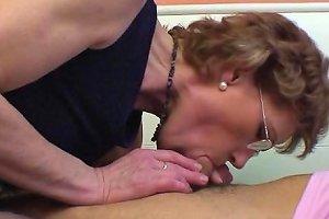 Mature Slut With Glasses Enjoys Getting Fucked