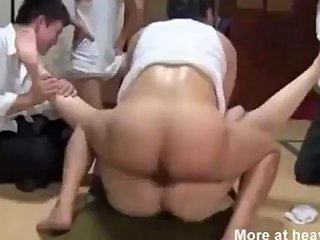 Japanese Wife Takes On All Of Husband 039 S Friends