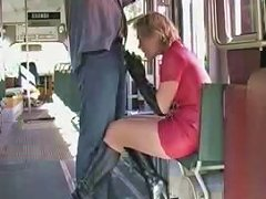 Sexy Wife In Latex And High Heels Boots Sucks Strapon In Tram Upornia Com