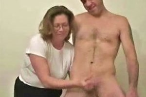 My Kinky Mature Wife Loves To Jerk Younger Men