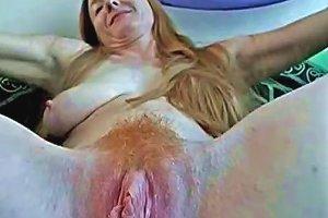 Anna May Hairy Redhead With Lactating Tits
