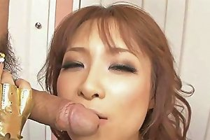 Japanese Porn Star With Long Nails Fucked Missionary Style