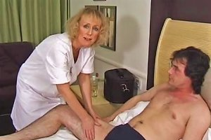 Skinny Blonde Granny Gets Creampie And Facial Free Porn 7c