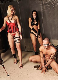 Slave gets dominated and hum...