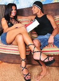 Hot in the ass ladyboy Andre...