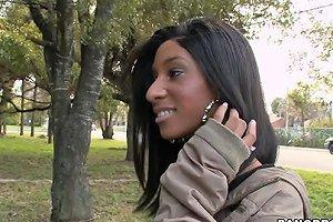 Brunette Ebony Slut Knockout Nadia Blowjob And Sex Any Porn