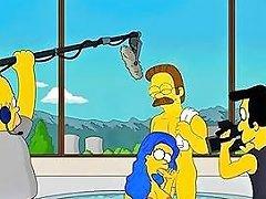 Marge Simpsons Hidden Orgies Sunporno Uncensored
