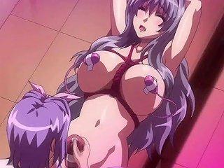 BravoTube Sex Video - Crazy Anime Rubbing A Shemale Cock