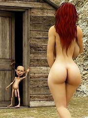 Steamy 3d Evil Priestess Is Screwed By Alien^3d Evil 3d Porn XXX Sex Pics Picture Pictures Gallery Galleries 3d Cartoon